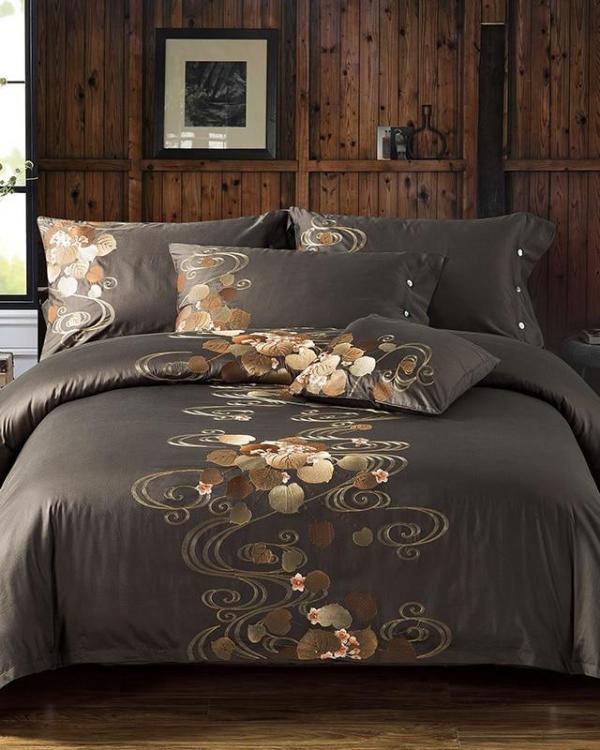 Arboretum Duvet Cover Set (Egyptian Cotton, 600 TC) - Roomie Design