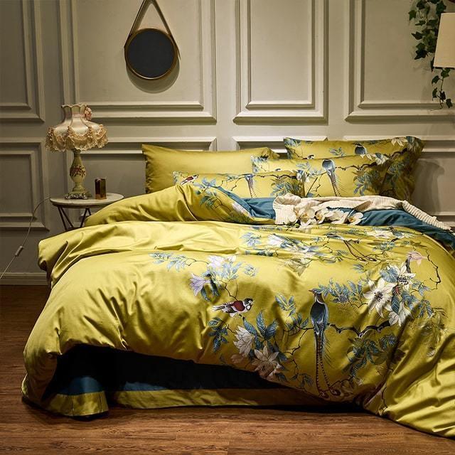 Bohemian Orient Duvet Cover Set (Egyptian Cotton, 500 TC) - Roomie Design
