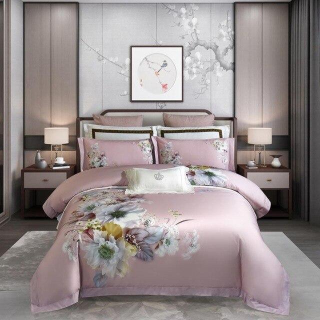 Butterscotch Duvet Cover Set (Egyptian Cotton, 1000 TC) - Roomie Design