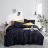 Solid Color Duvet Cover Set (Egyptian Cotton, 500 TC) - Roomie Design