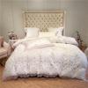 Nemida Floral Tencel Duvet cover set - Venetto Designbedding set 10 / King size 4pcs / Bed sheet style